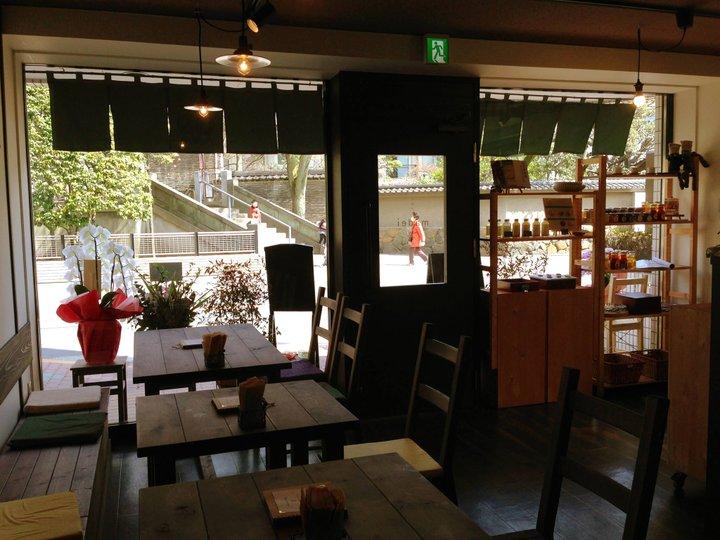 縁むすびの神様のすぐそばにあるカフェ