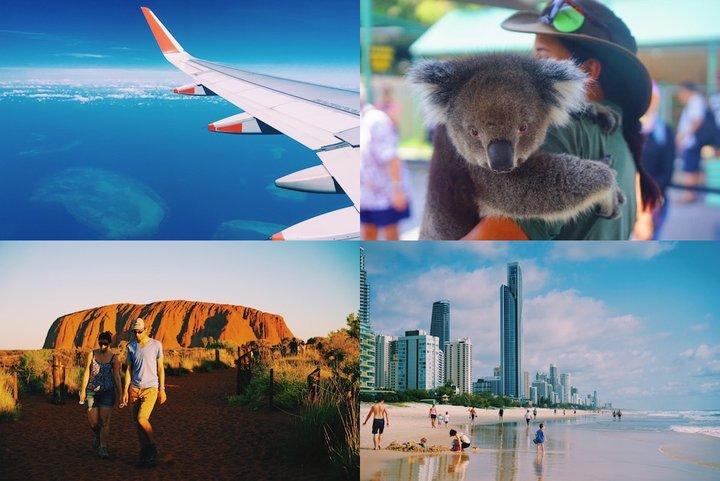 魅力の尽きないオーストラリアの旅へ、いざ!