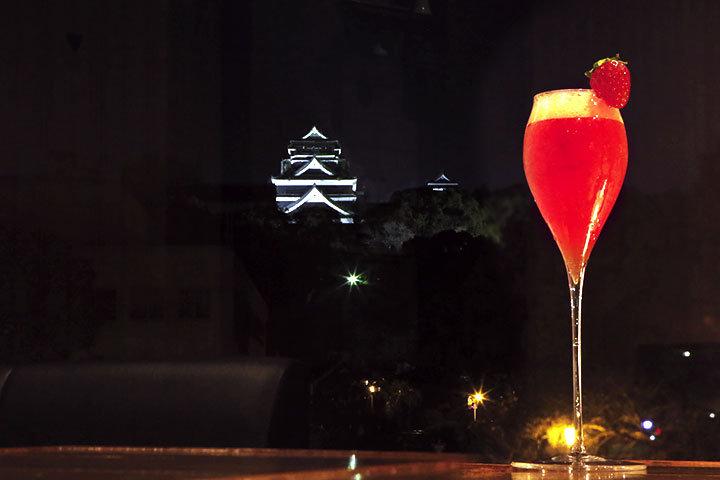 熊本城が見えるバーで大人の夜を「ESQUINA」