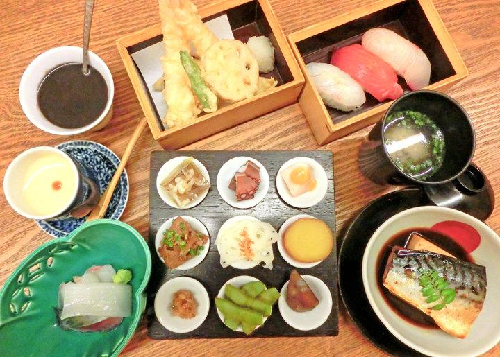 地元で獲れた新鮮魚介をリーズナブルに味わえる「Koga御膳」