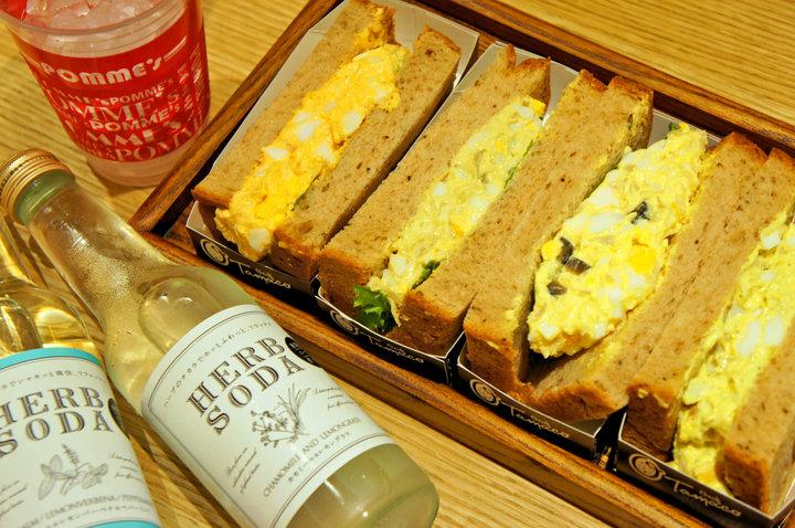 日本でここだけ! 約50種のたまごサンドがそろう、専門店のサンドイッチ