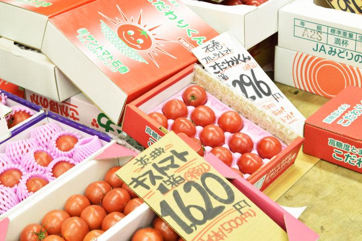 会話を楽しみながらお買い物「今庄青果・本店」