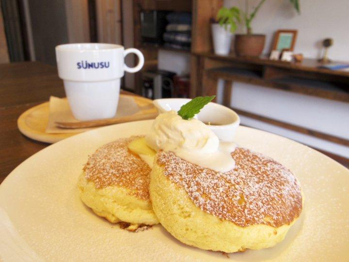 道産の素材をたっぷり使ったふわふわのパンケーキが話題。北海道「スヌス」