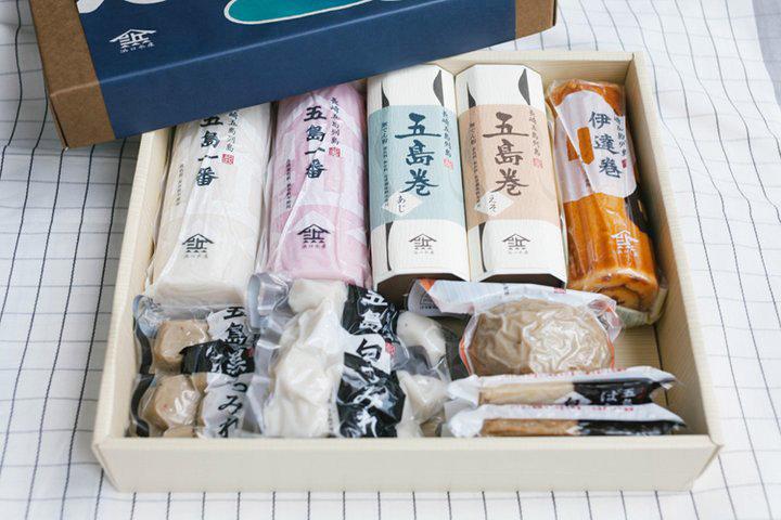 ふわっ。むぎゅっ。食感の違いが楽しい。長崎県・五島列島生まれの練りもの