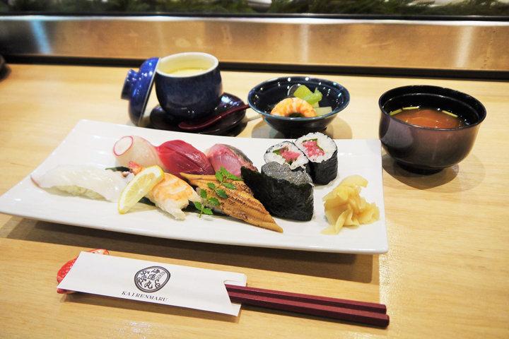 毎日通っても飽きない!贅沢な「寿司ランチ」