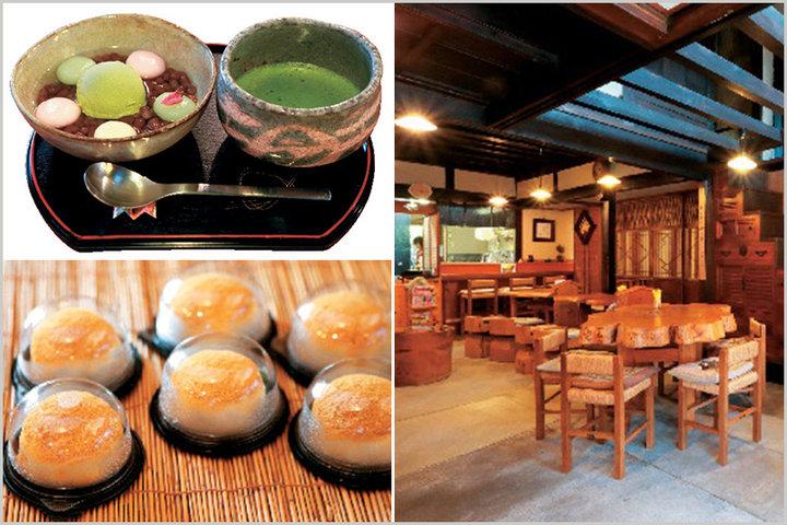 歴史ある和菓子店の味を古い商家を活かした空間で「茶房とみや」