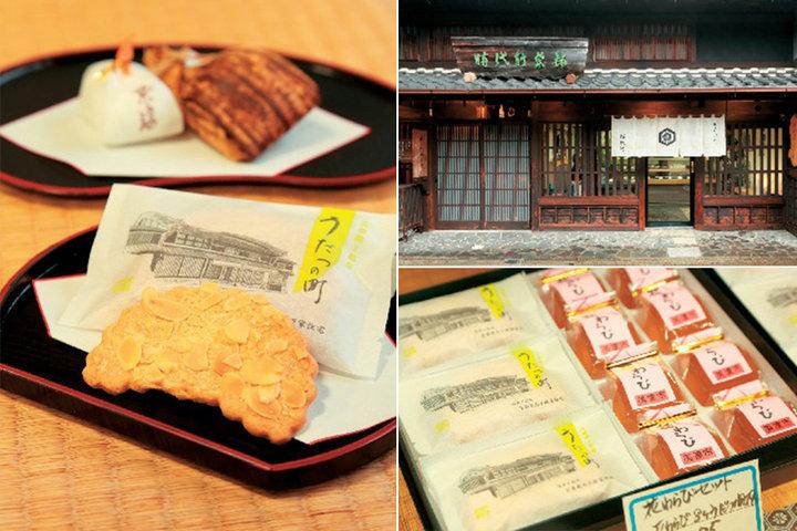 町の人の手土産として長く愛されているお菓子「時代軒菓舗」