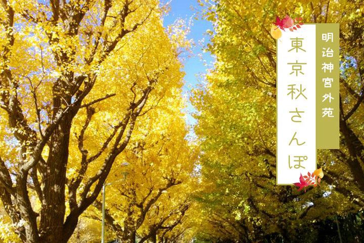 東京秋さんぽ#5ー黄金色の街並み。明治神宮外苑のイチョウ並木と一緒に立ち寄りたいグルメスポット