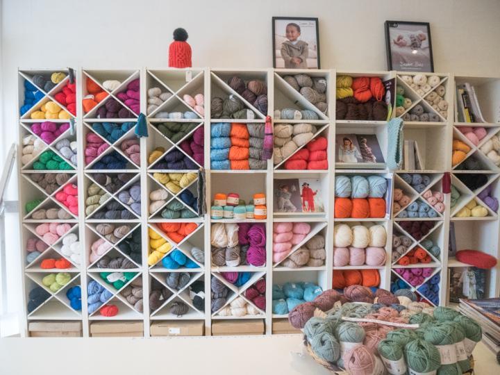 手作りアイデアがいっぱい♪ 地元ニッターが集まる北ロンドンの手芸屋さん