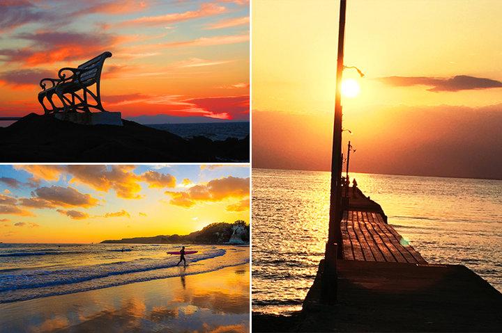 心洗われる景色でこころをチャージ。一日の疲れを癒す海沿いの夕日スポット【東日本編】
