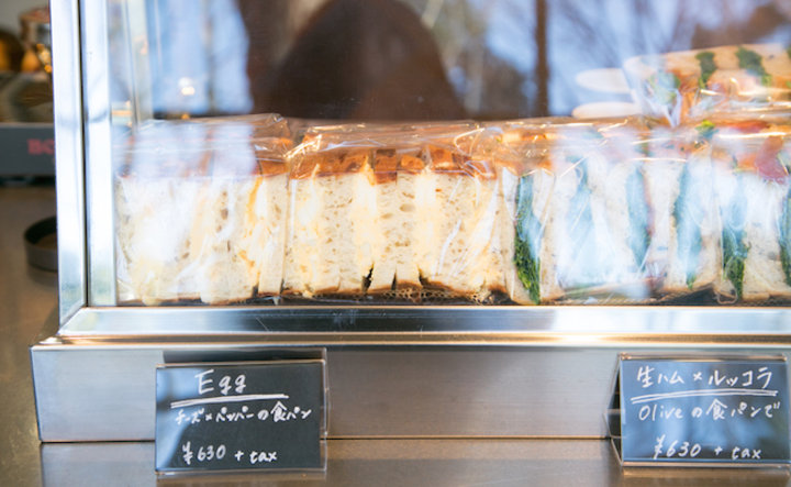 食パンが主役のサンドイッチ