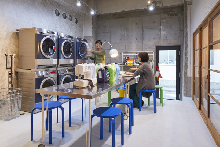 洗濯、ミシン、アイロンが使える家事室