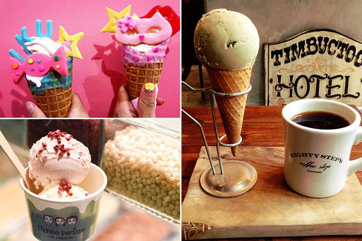 アイスクリームの日に食べたい♪都内のアイスクリームショップ4選
