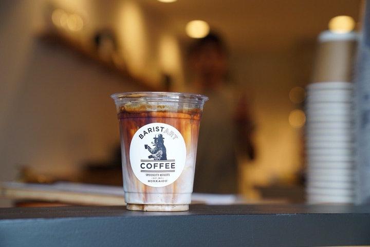 北海道ミルクたっぷりのラテ「バリスタートコーヒー」
