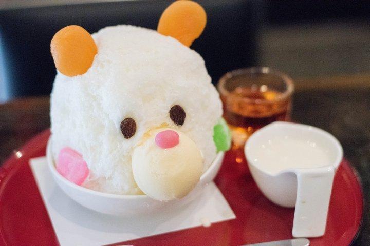 """【第4位】自家製ミルクのやさしい味わい!浅草雷門そばで出会えるほっこり""""しろくまかき氷"""""""