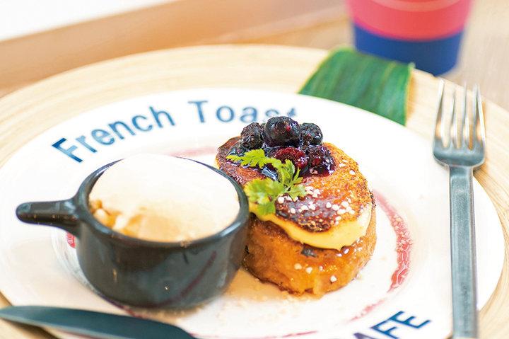 新食感のカリふわフレンチトースト「ロンカフェスタンド」