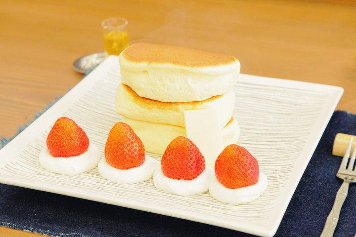 1日60名限定!ふわふわパンケーキ専門店「紅鶴」