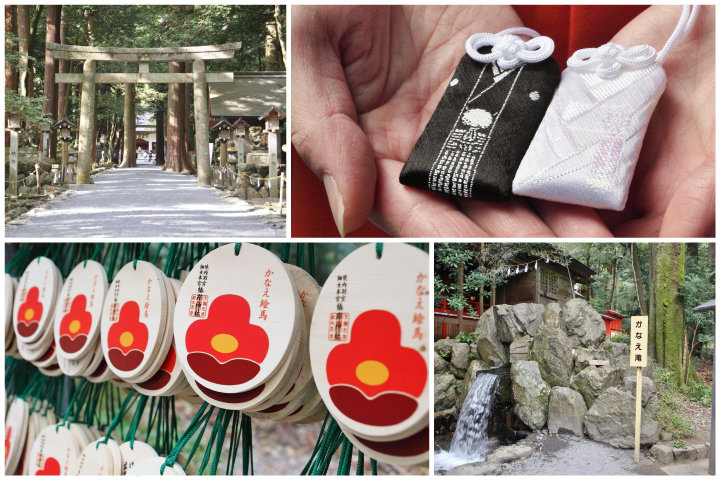 椿をあしらったお守りや絵馬がかわいい♪ 縁結びの聖地、三重・鈴鹿「椿大神社」へ