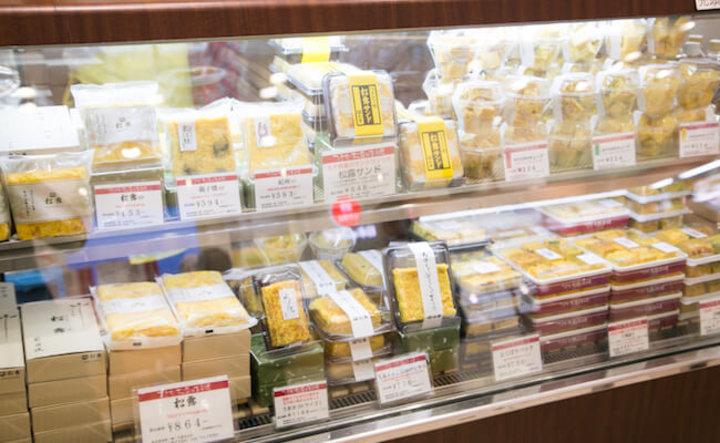玉子焼専門店『つきぢ松露』のタマゴサンド