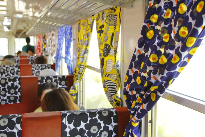 北欧の魅力がたっぷり詰まった、ステキな列車