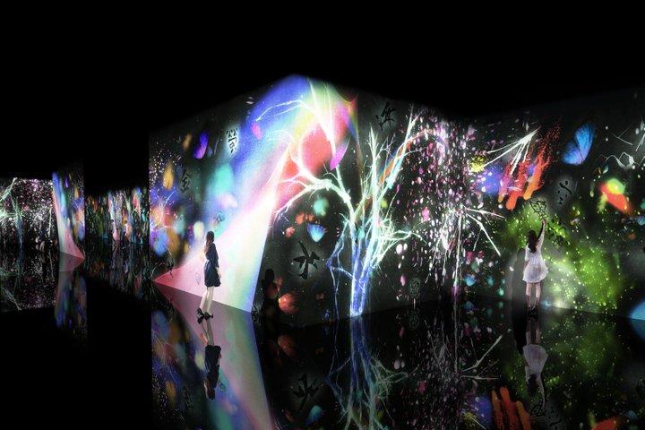 【展示会】兵庫・姫路市立美術館「チームラボ 世界は暗闇からはじまるが、それでもやさしくうつくしい」