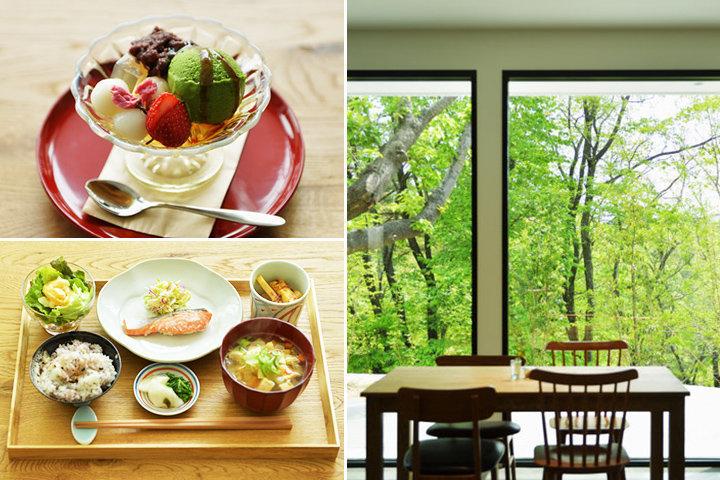 季節の和定食や和スイーツ「喫茶と食事 みどり」