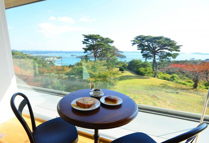 日本三景・松島が目前に見える絶景カフェ~4年半の時を経て復活♪