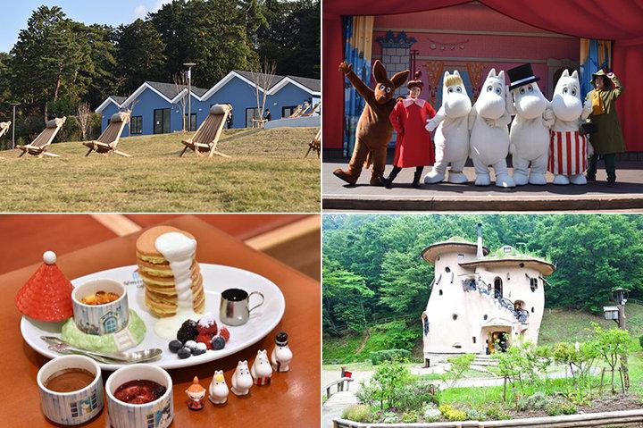 ムーミンの世界に出逢う旅へ~オープンしたばかりの公園やカフェまとめ~
