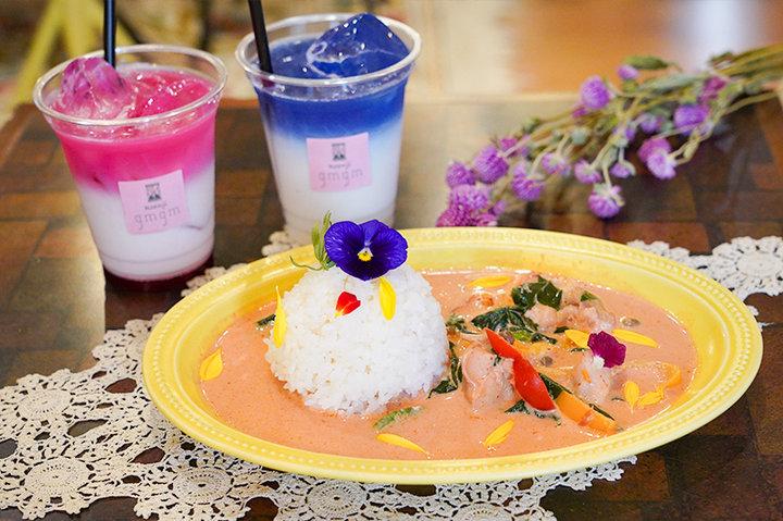 彩り豊かなフード&ドリンクが話題。ドライフラワーが降り注ぐ花カフェが高円寺にオープン