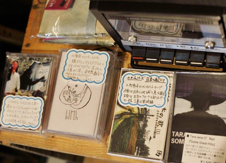 レコードやCD、雑貨なども独自の視点でセレクト