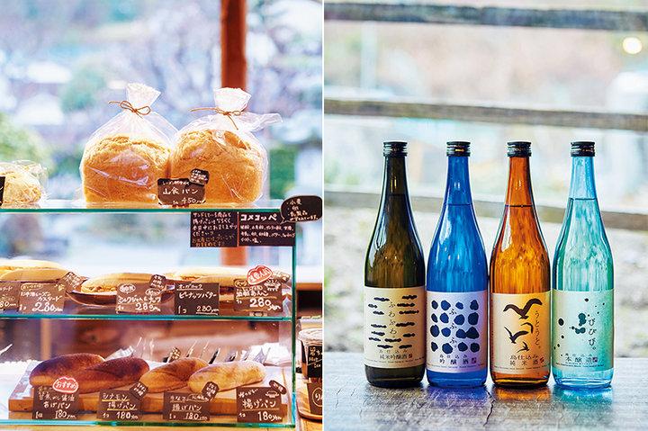 島で唯一の酒蔵がプロデュースするパン「森國ベーカリー」