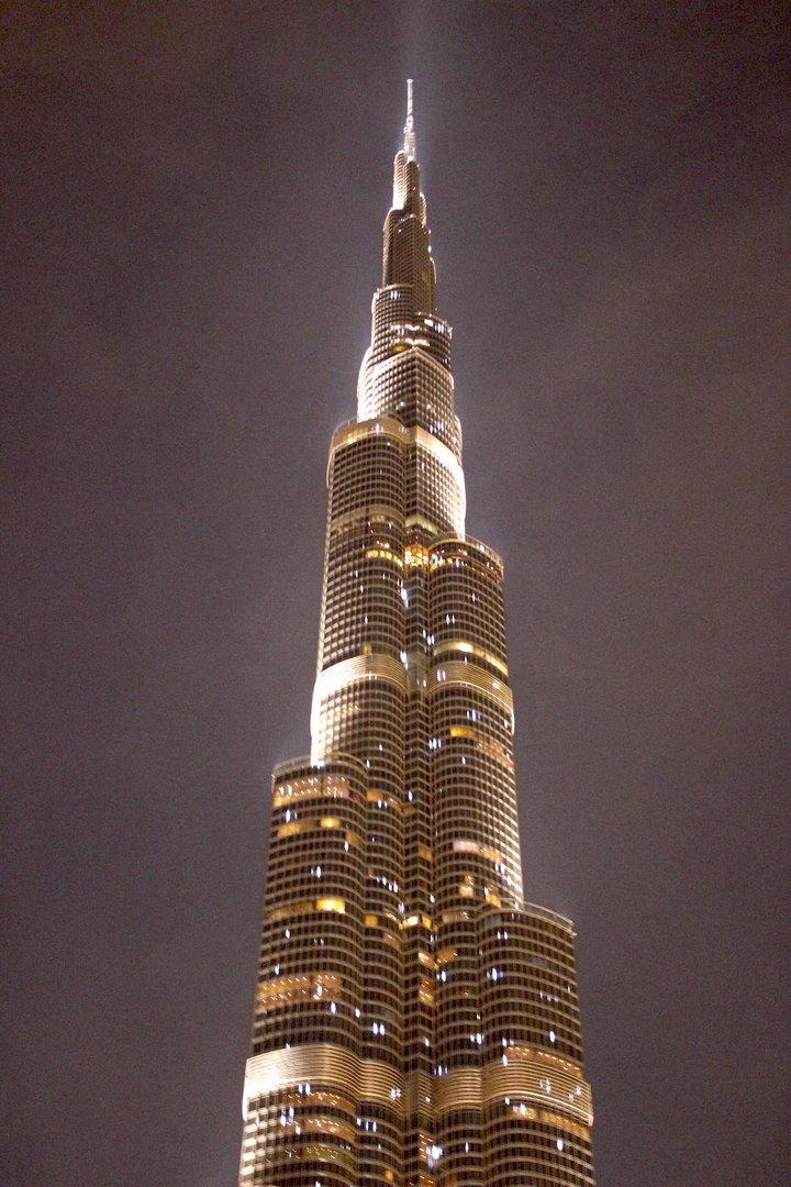 ドバイのシンボル的な存在、世界一の超高層ビル「バージュ・カリファ」