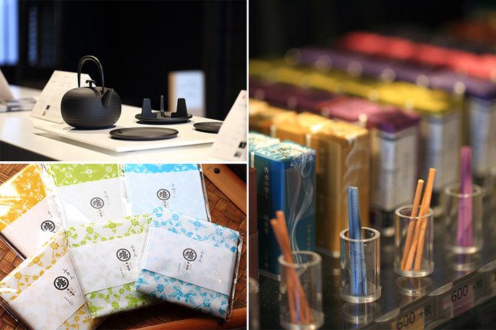 【寺町二条】鳩居堂が手がけるお茶とお香のお店「聞香処」