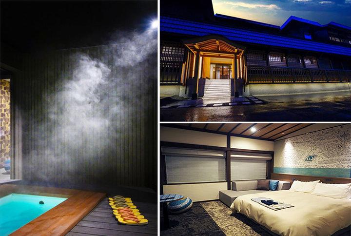 キッチン付きや半露天付きも!草津・湯畑からすぐの場所に素泊まり専用の旅館がオープン