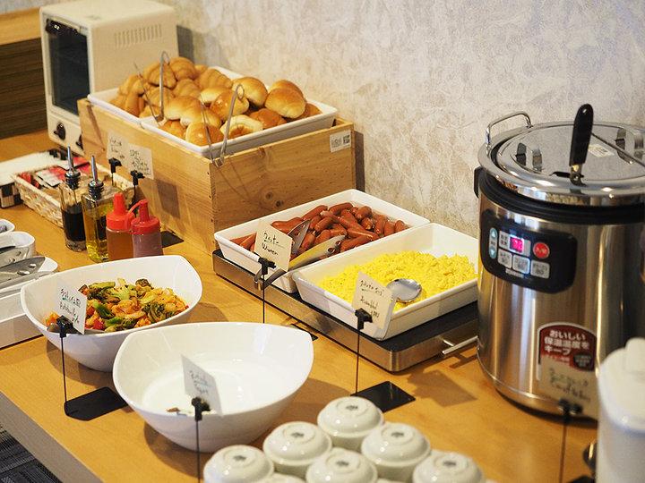 無料サービス朝食もうれしいポイント