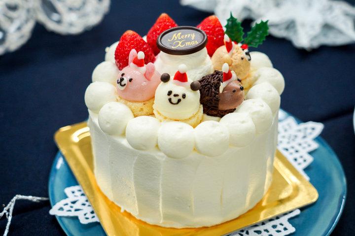 【フェアリーケーキフェア】苺のショートケーキZOO