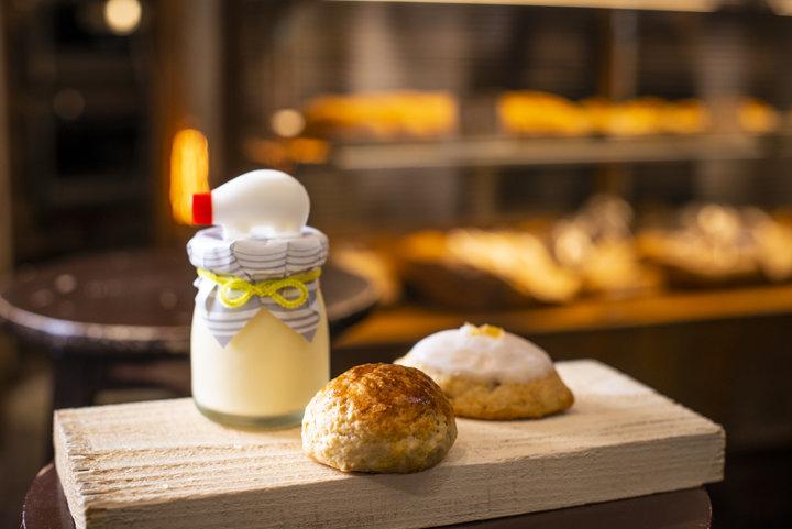 厳選素材で作る素朴な焼き菓子が並ぶ「藍昊堂菓子舗」