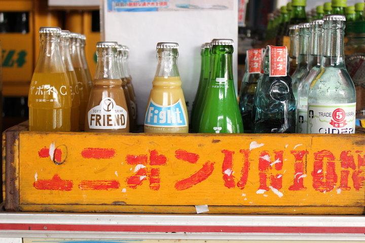 ここでしか飲めない地サイダー「後藤鉱泉所」