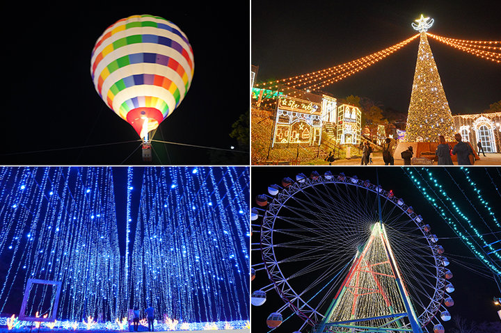 関東最大級600万球の灯りに包まれるイルミネーション「さがみ湖イルミリオン」