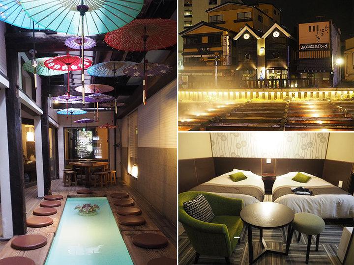 草津・湯畑ビューの部屋も!老舗旅館をリノベーションした素泊まり専用宿「草菴」