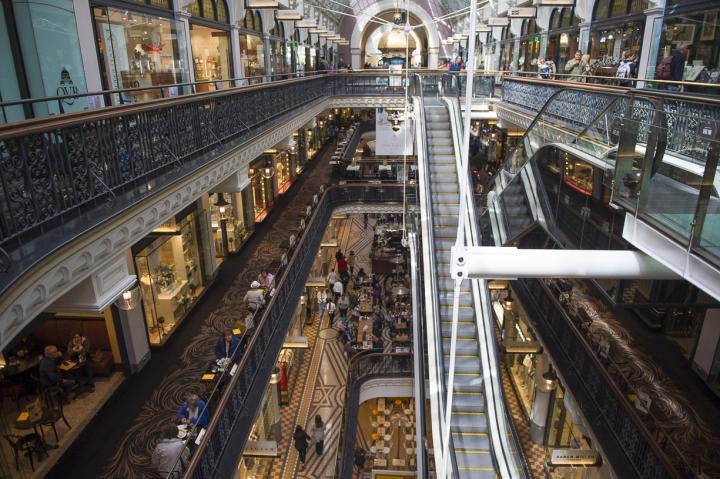 """""""世界一美しいショッピングモール""""クイーン・ビクトリア・ビルディングで買い物を"""