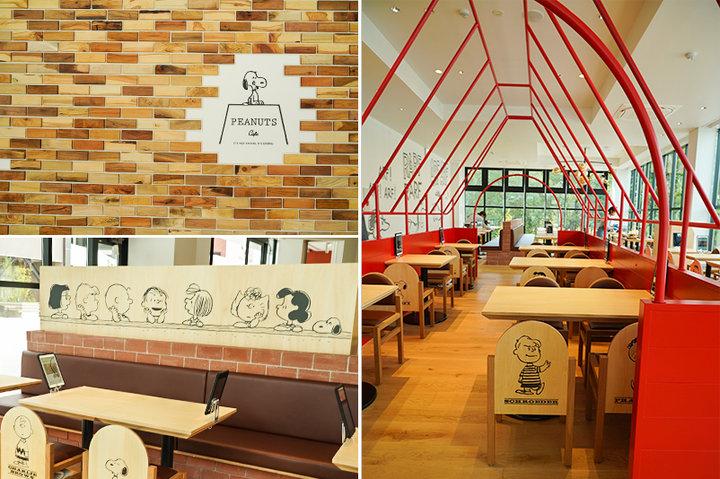 スヌーピー好きにはたまらない「PEANUTS Cafe 」