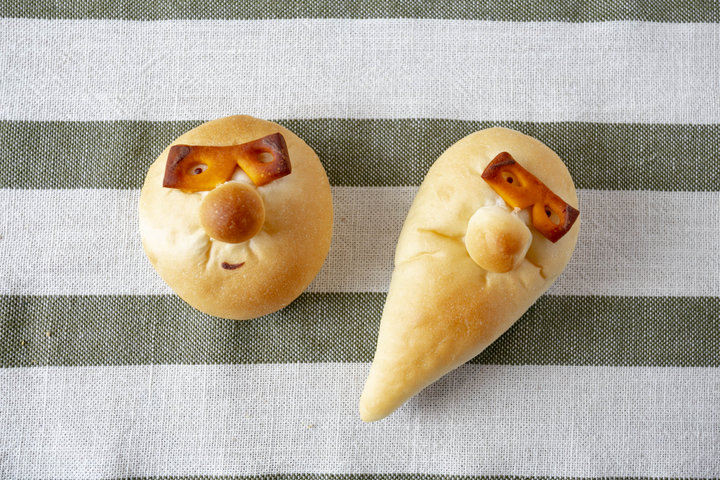 博多らしい郷土芸能モチーフのパン