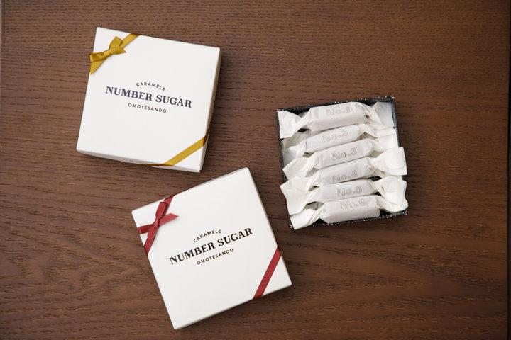 パーティーの手土産にも!表参道駅の手作りキャラメル専門店「NUMBER SUGAR」
