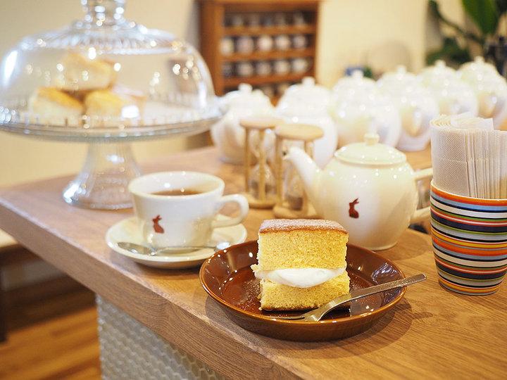 草津温泉で見つけた♪ふわふわカステラと紅茶のおいしさを発見できるティールーム「ゆきうさぎ」