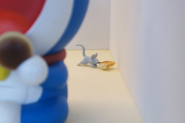 ドラえもんの弱点・ネズミを探せ