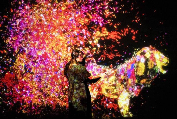 【展覧会】愛知・名古屋市「チームラボ 学ぶ!未来の遊園地と、花と共に生きる動物達」
