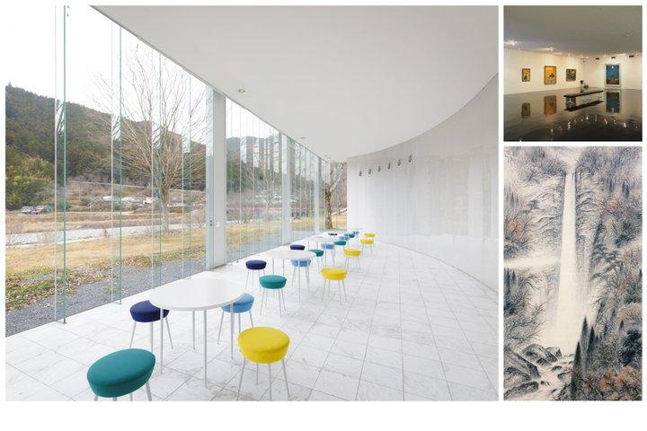 熊野の風景と現代建築が融合する美術館
