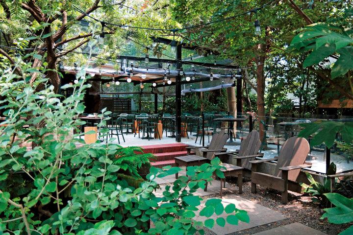 グリーンシャワーのテラスで心ほどけるモーニングコーヒー「GARDEN HOUSE」