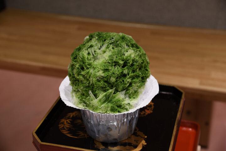 祇園店で人気の京を感じるかき氷